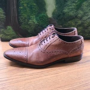 Giorgio Brutini Mens tan brown lace up shoes